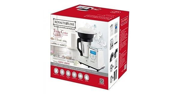 Thermo Cooker Robot de cocina Multi Función Bianco: Amazon.es: Hogar