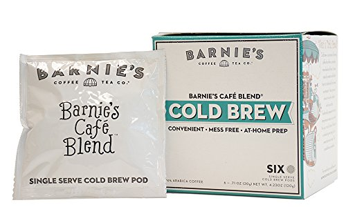 Barnie's Coffee & Tea, Barnie's Café Blend Cold Brew, 4.23 Ounce by Barnie's Coffee & Tea
