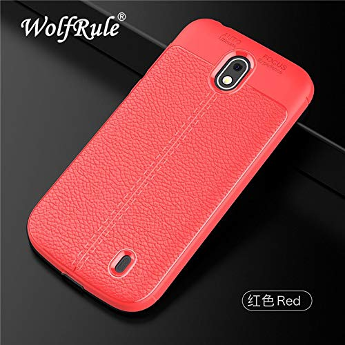watch 93f95 59b85 Amazon.com: sFor Case Nokia 1 Cover Shockproof Luxury Leather TPU ...