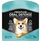 FRONTLINE Oral Defense Daily Dental Chews for Small Dogs (10-25 pounds) 28-Ct