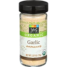 365 Everyday Value, Organic Garlic Granules, 2.57 Ounce