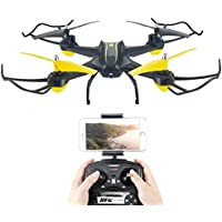 OOFAY Drone with Camera S6 Smart Set High Aircraft Crash-Resistant Wifi Real-Time Transmission Aerial Drone Remote Control Helicopter