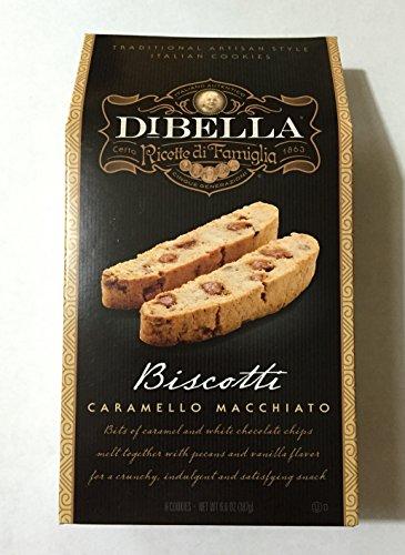 DiBella Biscotti, Caramello Macchiato, 6.6 Oz (Pack of 2)