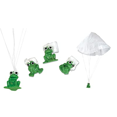 "1.3"" FROG PARATROOPERS: Toys & Games"
