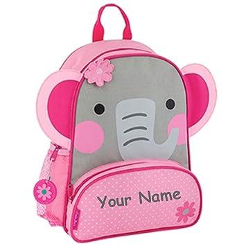 339161978009 Stephen Joseph Personalized Sidekick Elephant Backpack With Name