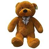 Peleustech 1.2M Giant Huge Cuddly Stuffed Animals Plush Teddy Bear Toy Doll - Brown