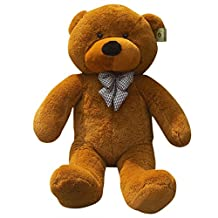 Peleustech 1.2M Giant Huge Cuddly Stuffed Animals Plush Teddy Bear Toy Doll - Brown