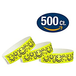 Yellow Smiley\'s - Wristco 3/4\