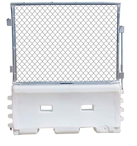 Traffix Devices Water Wall Fence Panel w/White Water Wall Complete Unit -