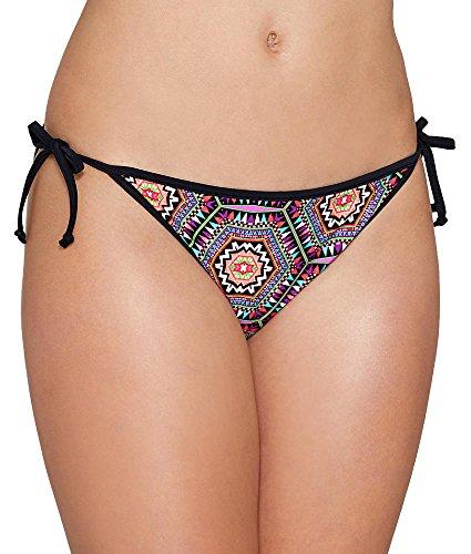 Freya Womens Zeta Reversible Tie Side Swim Brief, XS, Multi