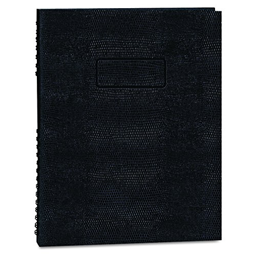 BLUELINE EcoLogix 100% Recycled  NotePro Notebook, Black, 11 x 8.5