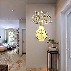 Modern Minimalist Creative Living Room Wall Clock Bedroom Personalized Decoration Fashion Art Clock , 002