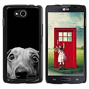 Vortex Accessory Hard Protective Case Skin Cover For Lg Optimus L90 / D415 - Whippet Italian Greyhound Hound Dog