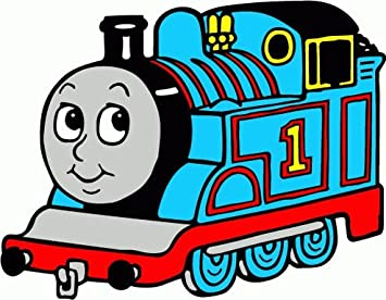 Thomas The Train Cartoon Design Decoration