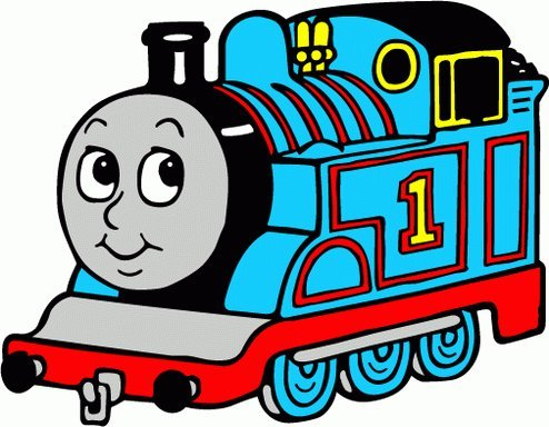 Amazon Com Thomas The Tank Engine Cartoon Car Bumper Sticker Decal