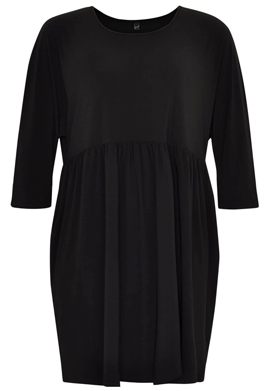 Yoek Womens Plus Size Tunic Dress Tailored