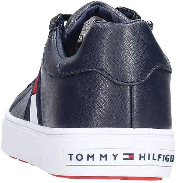8c5a6c3ecaf Tommy Hilfiger T3B4-30320-0625 Blue Eco Leather 2.5 UK: Amazon.co.uk ...