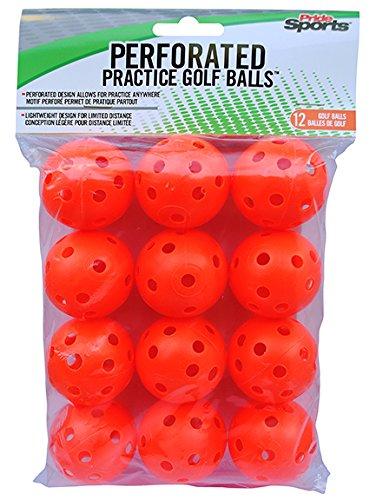 Orange Perforated Practice Balls ()