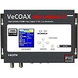 PVI Micromod RF Modulator Single Channel HD HDMI to TV Coax Extender Converter - Universal ATSC or QAM