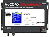 PVI VECOAX MICROMOD MS A Single Channel HD Digital AIR ATSC RF Modulator