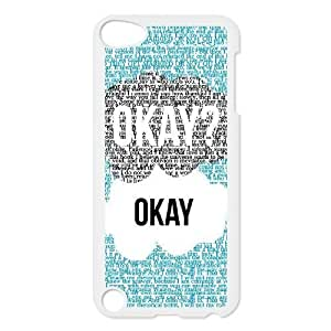 okay okay Discount Personalized Cell Phone Case for iPod Touch 5, okay okay iPod Touch 5 Cover Kimberly Kurzendoerfer
