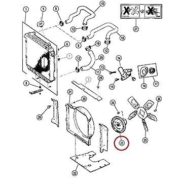 Visco acoplador de radiador de refrigeración para Jeep Cherokee 2.5L ESS Destockage para Jeep - 68064285 AA: Amazon.es: Coche y moto