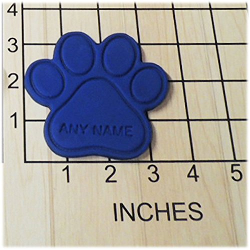 Personalized Paw Print Fondant Cookie Cutter and Stamp #1157