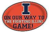 Illinois Fighting Illini Jumbo Game Day Peel & Stick