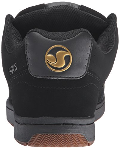DVS Discord Black/Gold Nubuck, Black Gold Nubuck, 11 UK