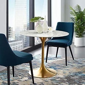 Amazon.com: Mediados de siglo estilo moderno Saarinen Tulip ...