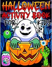 Halloween Activity Book for Kids: Halloween Jumbo Themed Workbook - 100 Pages of Fun - Ages 6 & Up: Color By Number, Dot to Dot, Spooky Mazes, Zombies Mandalas Coloring Pages, Mysterious Word Search, Scary Labyrinths, Words Puzzles and More!