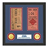 "MLB Chicago Cubs World Series Ticket Collection, 17 "" x 14"" x 3"", Black"