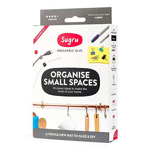 Sugru Moldable Glue - Organize Small Spaces Kit
