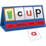 Really Good Stuff Word Building Desktop Pocket Chart Tent and Cards Kit