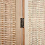 RHF 6 ft.Tall Bamboo Room Dividers, 6 Panel Room