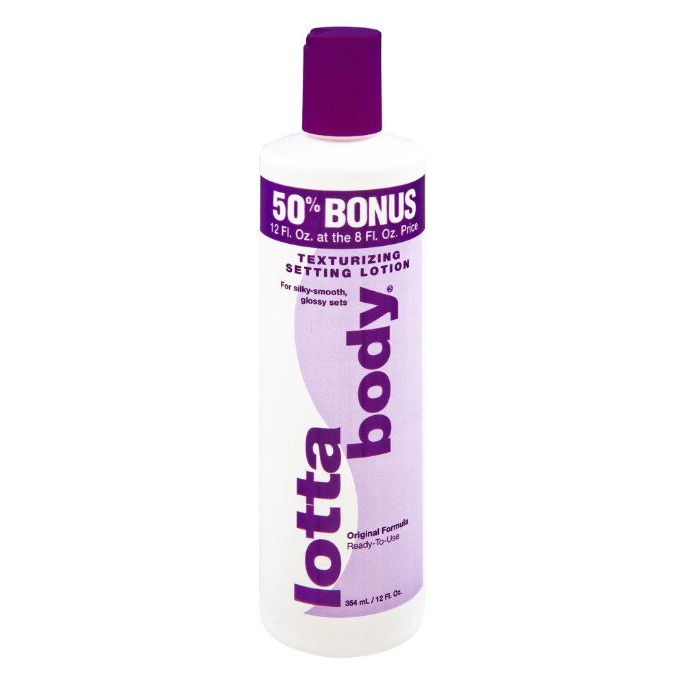 Lotta Body Texturing Hair Setting Lotion, 12 fl oz Lottabody 63222