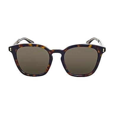 e797c4e894362 Image Unavailable. Image not available for. Color  Sunglasses Gucci GG 0125  S- 002 002 AVANA ...
