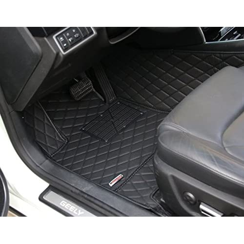 Worth Mats Custom Fit Luxury Xpe Leather Waterproof Floor Mat For