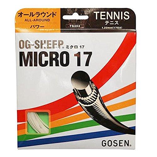 Gosen-OG-Sheep Micro Tennis Strings 17g 1.22mm-(TS404:SET)