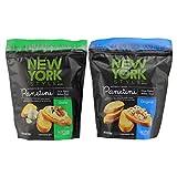 New York Style Panetini - Garlic & Original - Oven Baked Italian Toast (Variety Pack, 4.75 ounce Each)