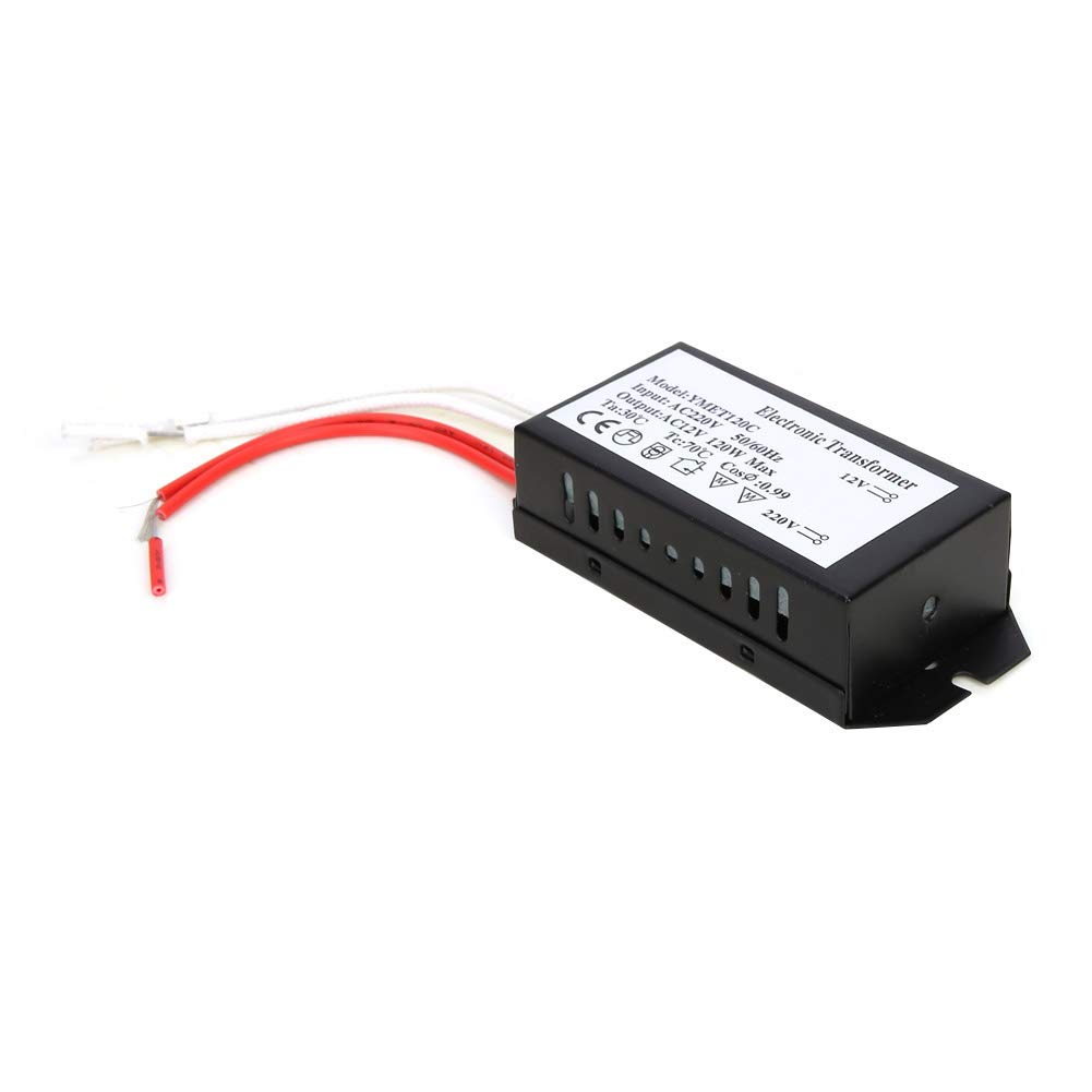 60W 220V to 12V Halogen Lamp Electronic Transformer Power Supply Driver Adapter