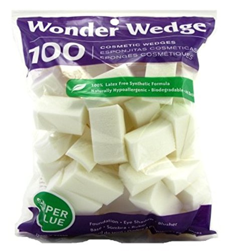 Wonder Wedge 100 Count Cosmetic Wedge (2 Pack)