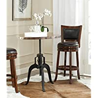 Safavieh Home Collection Nesta Black + Copper Crank Table