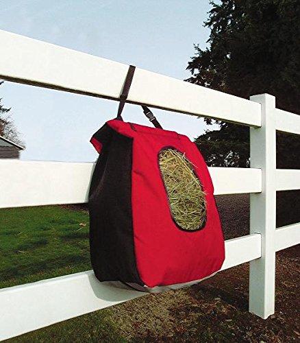 Black CASHEL Hay Bag with Mesh