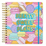 2019-2020 Pretty Sweet Plans, 17 Month Daily Planners/Calendars: Tri-Coastal Design Planners with Monthly, Weekly and Daily Views - Personal Planner Notebook for Work or Home
