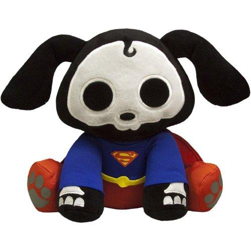 Superman Secret Identity Costume (Toynami Skelanimals DC Mini Plush - Superman Dax)