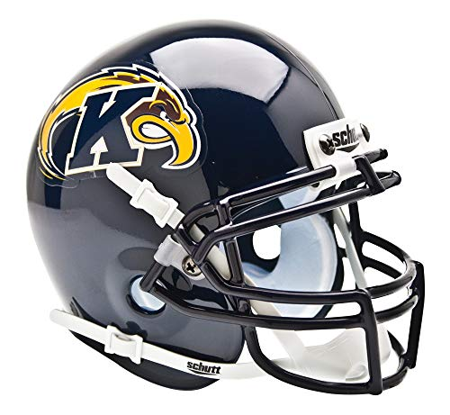 Schutt NCAA Mini Authentic XP Football Helmet, Kent State Golden -