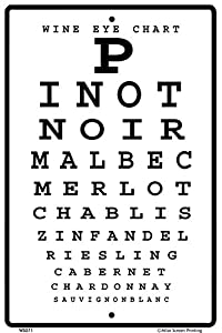 Image result for wine eye chart