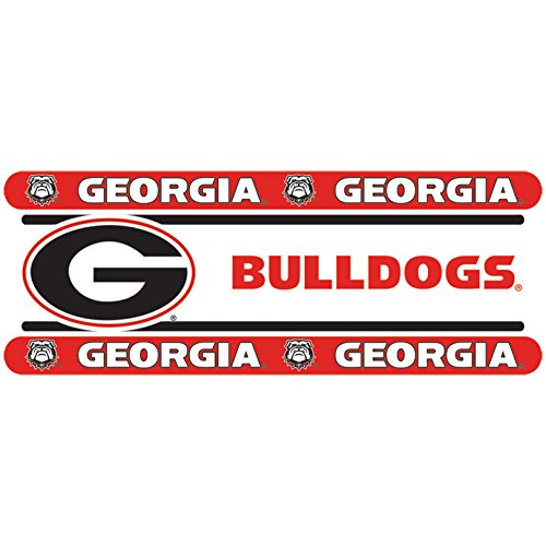 Georgia Bulldogs NCAA Decor Wall Border 8 PACK (5 In by 15 Ft Per Pack = 120 Feet Total!) - Great for Playrooms, Basements or Mega-Sized Fancaves! - SAVE BIG ON BUNDLING! by Sports Coverage