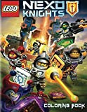 LEGO NEXO KNIGHTS Coloring Book: Activity Book for Kids and Adults - 60 illustrations